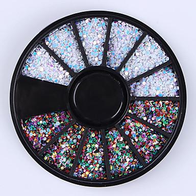 1box Brillante Joyas de Uñas arte de uñas Manicura pedicura Diario Glitters / Moda / Joyería de uñas
