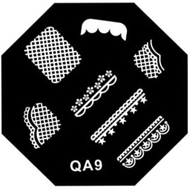 1pcs stempling Plate Stilfull / Mote Nail Art Design Stilig Design Daglig