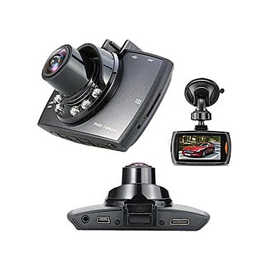 """voordelige Automatisch Electronica-Full HD 1920 x 1080 Bewegingsdetectie / G-Sensor / 720P Auto DVR 120 graden Wijde hoek 1/4"""" kleuren CMOS 2.7 inch(es) Dash Cam met 6 infrarood LED's Autorecorder"""