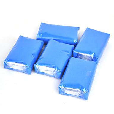 شريط الطين السحر للسيارة وشاحنة السيارات بالتفصيل أنظف علة سيارة غسالة والقطران مزيل 150G الزرقاء محفظة 5pcs