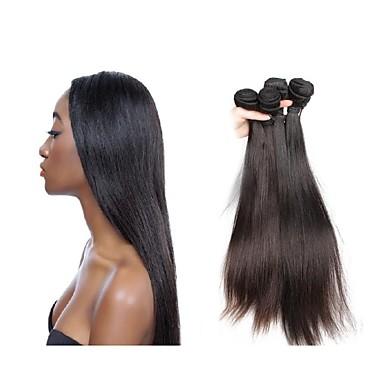 povoljno Remy umeci od ljudske kose-Virgin kosa Remy umeci od ljudske kose Ravan kroj Brazilska kosa 200 g Više od jedne godine
