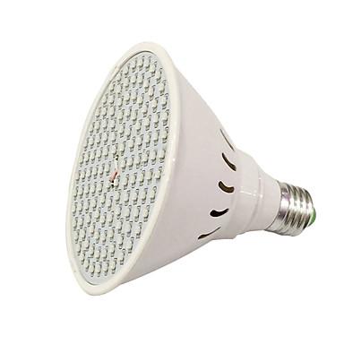 1pc 8 W 780-935 lm E26 / E27 Growing Light Bulb 126 Cuentas LED SMD 3528 Rojo / Azul 85-265 V / 1 pieza / Cañas / FCC