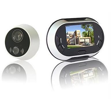 actop produtos de segurança modernos visão espectador olho mágico suporte noite e sensor de pir zy-3502