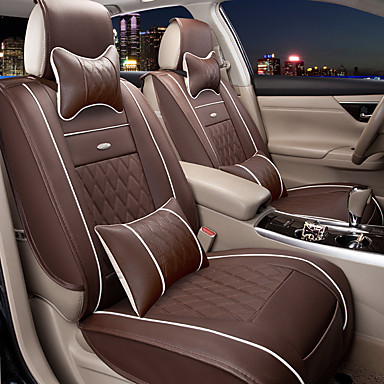 Odeer Car Seat Covers Seat Covers Coffee Black And White Black