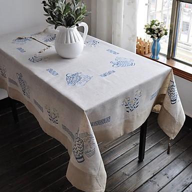 Lenjerie Dreptunghiular Fețe de masă Floral Ecologic Decoratiuni de tabla