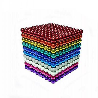 levne Magnetické hračky-216 pcs 5mm Magnetické hračky magnetické kuličky Stavební bloky Super Strong magnetů ze vzácných zemin Magnet Neodymové magnety Elegantní & moderní Stres a úzkost Relief Office Desk Toys Dětsk