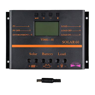 y-solar 60a lcd solenergi lade kontrolleren PWM lader solcellepanel solar60