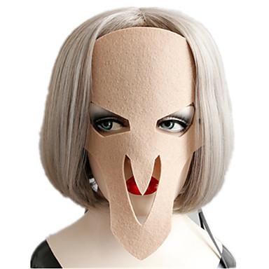voordelige Maskers voor de feestdagen-Halloweenmaskers Creatief Cool Leder Pluche Volwassenen Jongens Meisjes Speeltjes Geschenk 1 pcs