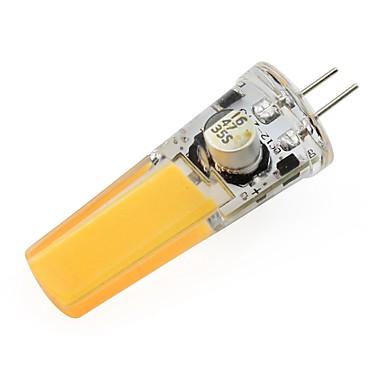1pc 3W 150-200lm G4 LED-lamper med G-sokkel T 1 LED perler COB Dekorativ Varm hvit Kjølig hvit 12V
