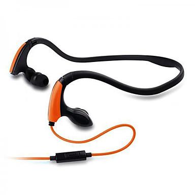 KM-J039 I øret / Halsbånd Med ledning Hodetelefoner dynamisk Plast Sport og trening øretelefon Med mikrofon Headset