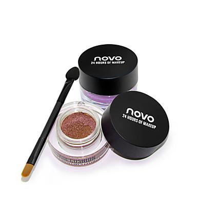1 Paleta de Sombras Mineral Paleta da sombra Bálsamo Normal Maquiagem para o Dia A Dia