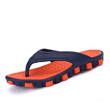 Miehet kengät Kumi Kesä Varvassormus Tossut & varvastossut Käyttötarkoitus Kausaliteetti Oranssi Harmaa Punainen Vihreä