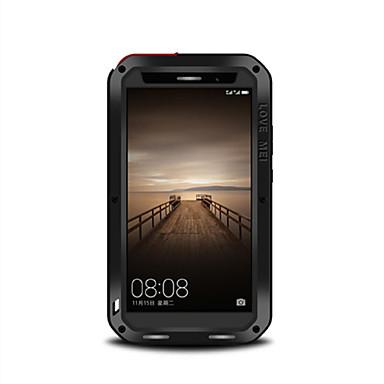 Etui Til Huawei Vannavvisende Støvtett Støtsikker Heldekkende etui Helfarge Hard Metall til Mate 9 Huawei
