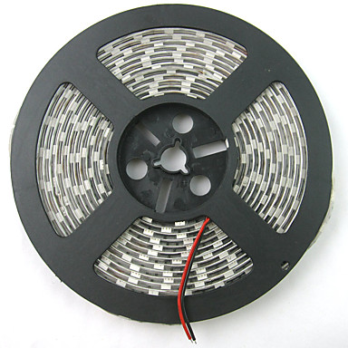 0.3m / 5 m Voksende Strip Lights 300 LED Rød / Blå Kuttbar / Vanntett / Koblingsbar 12V / 5050 SMD / IP65 / Selvklebende