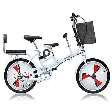 voordelige Fietsen-Vouwfietsen Wielrennen 3 Speed 50.8 cm Dubbele schijfrem Geveerde voorvork Monocoque Normale Alumiiniseos / Staal / Ja / #