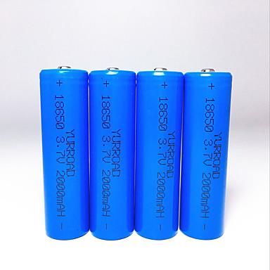 abordables Lampes & Lanternes de Camping-batterie Cas de batterie pour 18650 Rechargeable Taille Compacte Urgence 18650