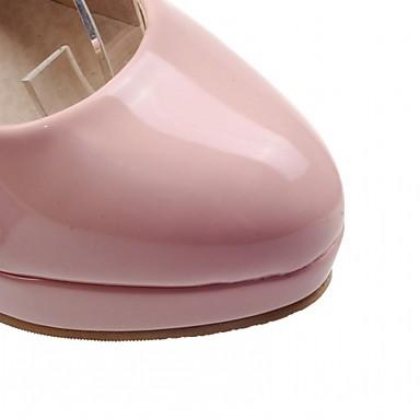 Talons rond Boucle Eté à 05602083 Bottier Confort Printemps Polyuréthane Bout Chaussures Marche Chaussures Nouveauté Talon Similicuir Femme Tq6Bzx