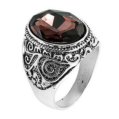 billige Motering-Ring tommelfingerring Krystall kaffe Krystall Legering Asiatisk Daglig Avslappet Smykker Artisan