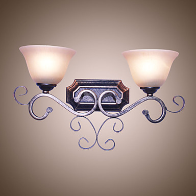 Rustikk / Hytte / Traditionel / Klassisk Vegglamper Metall Vegglampe 110-120V / 220-240V 60W