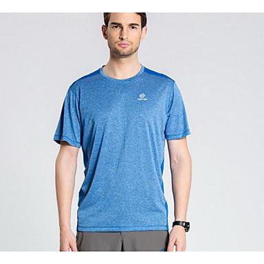 Herre Unisex T-skjorte til turbruk Fort Tørring Lettvekt Topper til Fritidssport Sommer M L XL