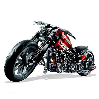 Blocos de Construir / Motocicletas de Brinquedo 374pcs Carro / Moto Novidades Clássico Motocicletas Para Meninos Dom