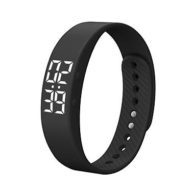 T5S Smartklokke Smart armbånd Android Tidtaker Vannavvisende Kalorier brent Pedometere Trenings logg Vekkerklokke Sport Akselerometer
