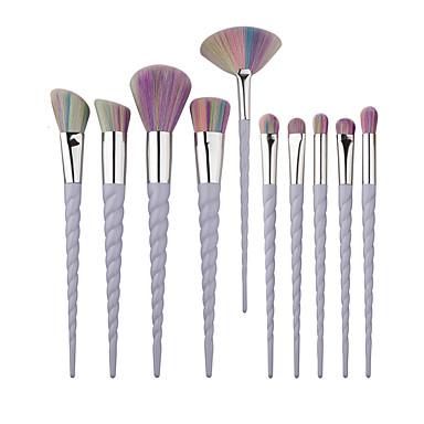 10pcs Makeup børster Profesjonell Syntetisk hår Profesjonell / Full Dekning / syntetisk Plast