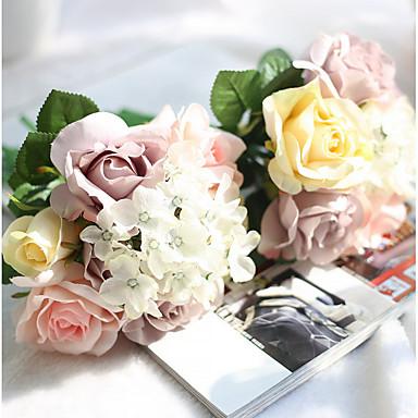 Bouquets de Noiva Buquês / Outros Casamento / Festa / Noite Material / Poliéster 0-20cm