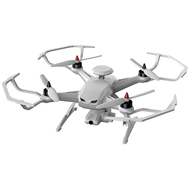 billige Fjernstyrte quadcoptere og multirotorer-Drone WL Toys CG035 4 Kanaler 6 AkseEn Tast For Retur Auto-Takeoff Feilsikker Hodeløs Modus Flyvning Med 360 Graders Flipp Jordstasjon