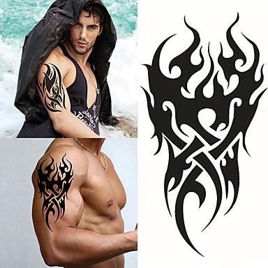 Vanntett / 3D / Tattoo-klistremerke arm midlertidige Tatoveringer 1 pcs Totem Serier kropps~~POS=TRUNC