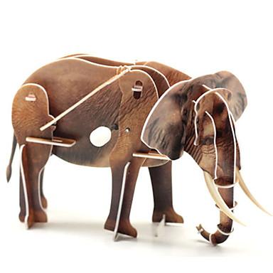 voordelige 3D-puzzels-3D-puzzels / Legpuzzel Olifant / Dinosaurus Dieren 1 pcs Kinderen Geschenk