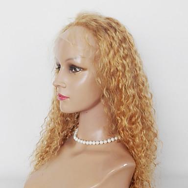 합성 레이스 프론트 가발 Kinky Curly 여성용 전면 레이스 내츄럴 가발 인조 합성 헤어