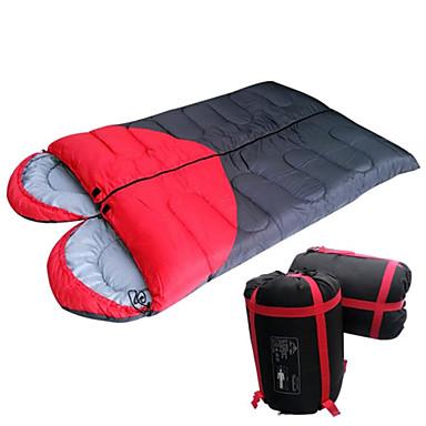 Sac de couchage Double Garder au chaud Résistant à l'humidité Etanche Ultra léger (UL) Résistant à la poussière Epais Respirabilité