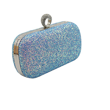 للمرأة أكياس PU حقيبة الكتف إلى مناسبة / حفلة أزرق / شامبانيا / أسود