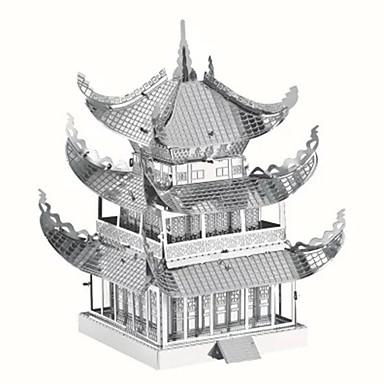 3D-puslespill / Puslespill / Metallpuslespill Kjent bygning / Kinesisk arkitektur Kreativ / GDS / Kul Chic & Moderne / Elegant &