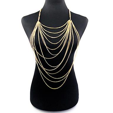 voordelige Dames Sieraden-Dames Lichaamssieraden Body Chain / Belly Chain Goud Dames / Bohémien / Modieus Legering Kostuum juwelen Voor Kerstcadeaus / Feest / Speciale gelegenheden Zomer