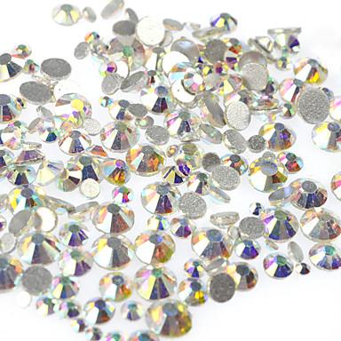 6665d6c0265c 400-500pcs bag Cristal   Estilo Rhinestone   Diamantes Sintéticos   Cristal    Strass Nail Art Tool Joyas de Uñas Brillantes Para arte de uñas Manicura  ...