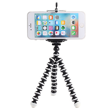 Clip Flex Clamp Monopod Tripod Mount / Holder Adjustable All in One Convenient For Action Camera Gopro 6 Sports DV Others Gopro All Hero
