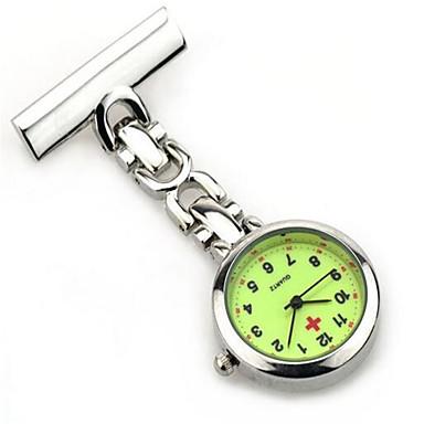 574ef9a74 للمرأة للرجال ساعة جيب كوارتز / أشابة فرقة عادية فضة