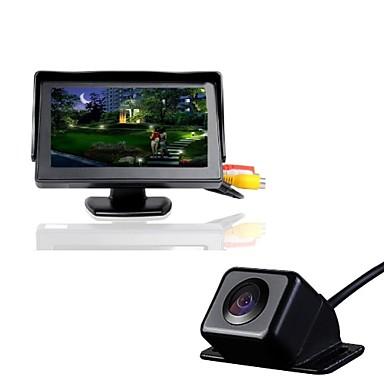 4.3T+630 720p DVR de carro 170 Graus Ângulo amplo 4.3 polegada Dash Cam com Impermeável Gravador de carro