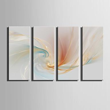 billige Trykk-Trykk Valset lerretskunst - fantasi Moderne Fem Paneler Kunsttrykk