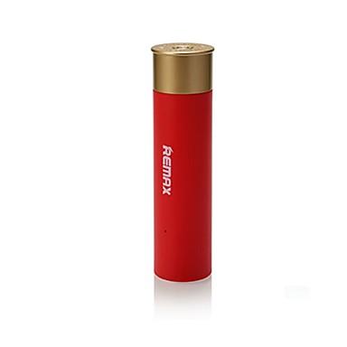 Bateria externa do banco 2500mahpower à prova de choque 2500 1000 à prova de choque