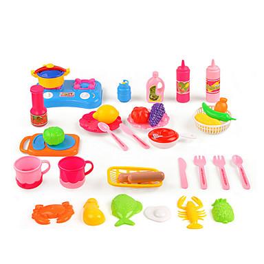 Sets jouet cuisine jeu de r le jouer la cuisine plastique enfant unisexe jouet cadeau de - Cuisine plastique jouet ...