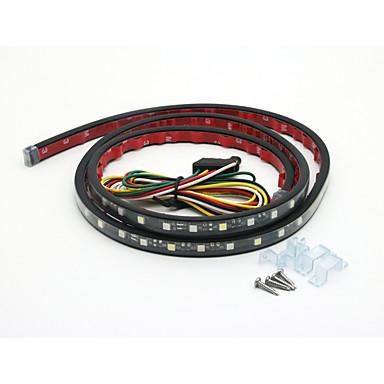 60pcs Carro Lâmpadas SMD 5050 LED Luz traseira For Universal
