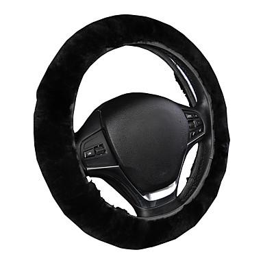 voordelige Auto-interieur accessoires-AUTOYOUTH Auto-stuurhoezen Wol Zwart / Grijs Voor Universeel
