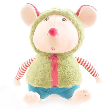 voordelige Knuffels & Pluche dieren-Muis Hamster Poppen Knuffels & Pluche dieren Schattig Plezier Jongens Meisjes Speeltjes Geschenk 1 pcs