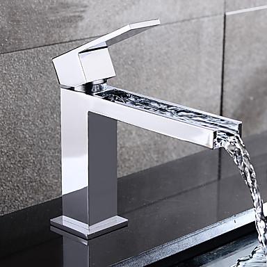 vendita a buon mercato usa autentico vestibilità classica Lavandino rubinetto del bagno - Cascata Cromo Lavabo Una ...
