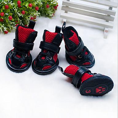 Gato / Cachorro Sapatos e Botas Clássico / Aniversário / Casual Formais Vermelho / Rosa claro Para animais de estimação / Verão
