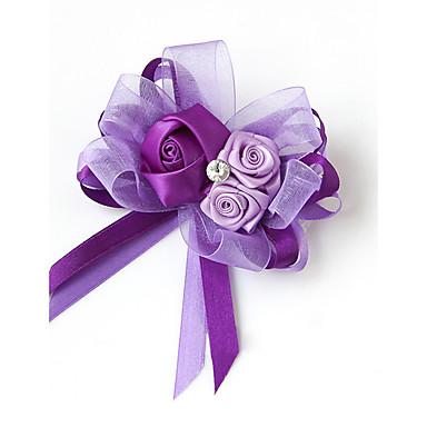 Bouquets de Noiva Alfinetes de Lapela Casamento / Festa / Noite Cetim 5.51