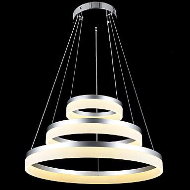 Okrągły Żyrandole Downlight - LED, 110-120V / 220-240V, Warm White / Cold White, Żarówka w zestawie / 15/10 ㎡ / LED Zintegrowane